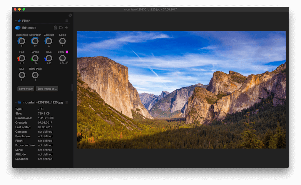 Phiewer | macOS image viewer